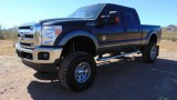 Ford Super Duty F250 Lariat Crew Cab 4WD FX-4 Lifted 2012