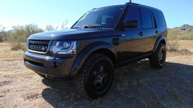 2013 Land Rover LR4 4WD 4dr HSE