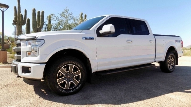 2015 Ford F150 4WD SuperCrew Lariat FX-4 Luxury & Tech Pkg