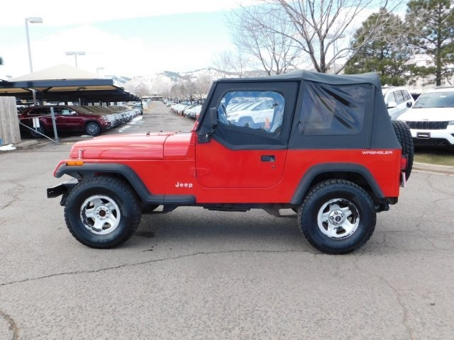 Jeep Wrangler 1995 price $5,599