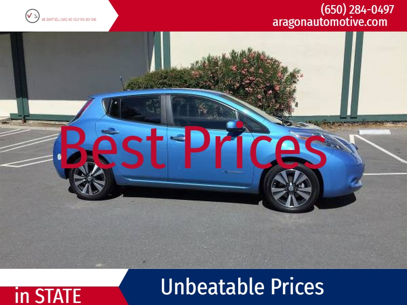 Nissan LEAF 2013 price $13,000