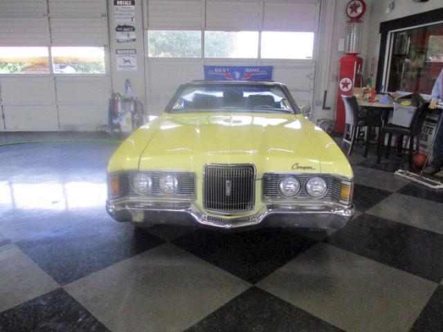 Mercury Cougar 1971 price $10,995