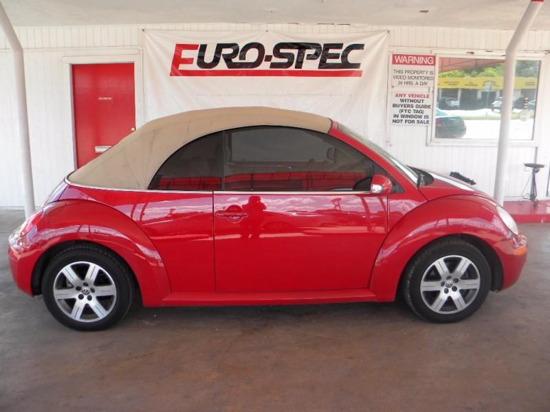 2006 Volkswagen New Beetle Convertible 2dr 2 5l Auto Inventory Eurospec Auto Dealership In