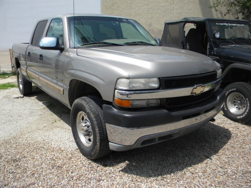 Chevrolet Silverado 2500HD 2002 price $0