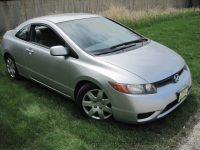 2007 Honda Civic Cpe 2dr AT LX
