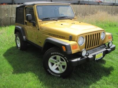 2003 Jeep Wrangler 2dr Rubicon