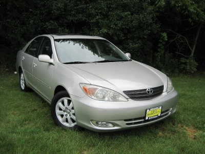 2003 Toyota Camry XLE One Owner.