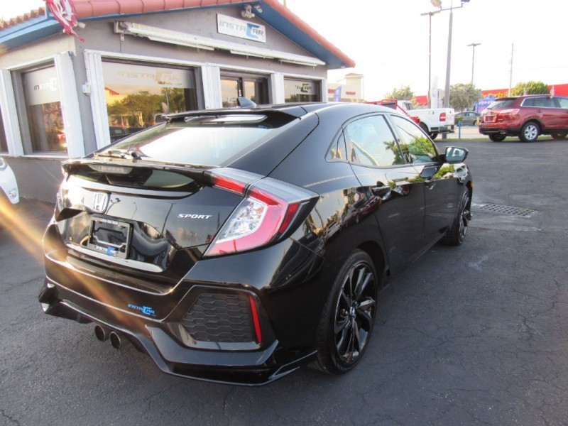 Honda Civic Hatchback 2018 price $16,495