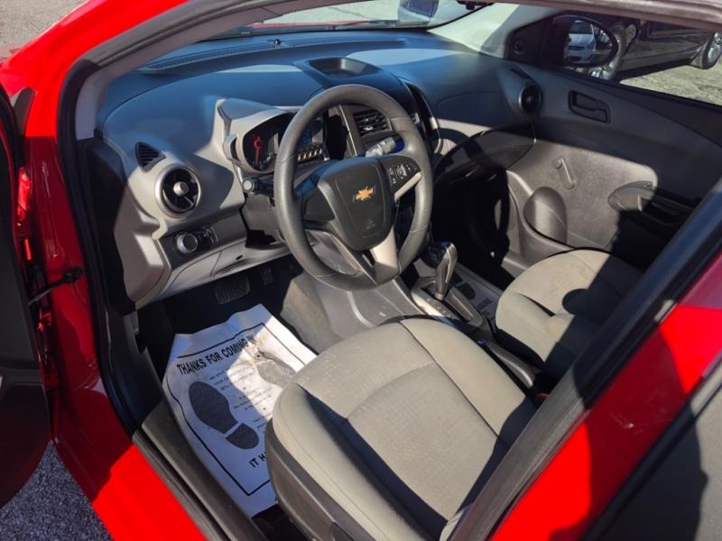 Chevrolet Sonic 2016 price $7,800