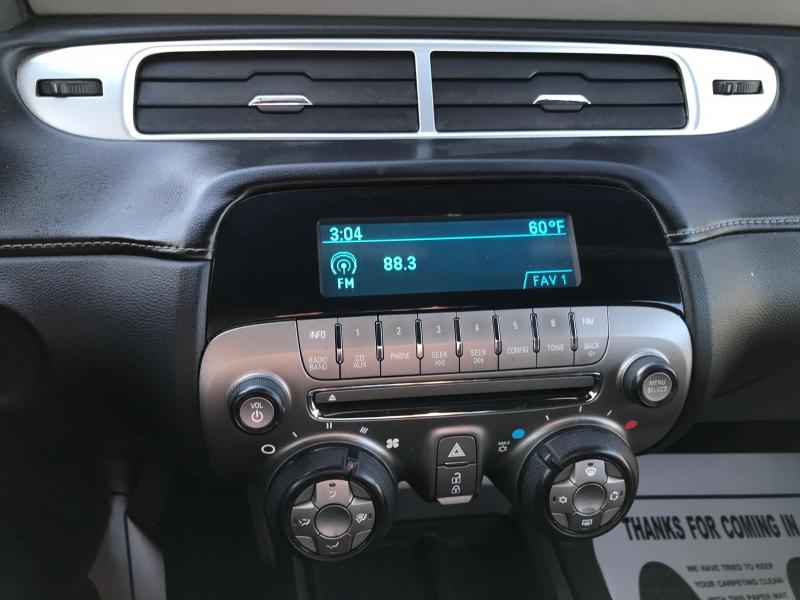Chevrolet Camaro 2014 price $13,990