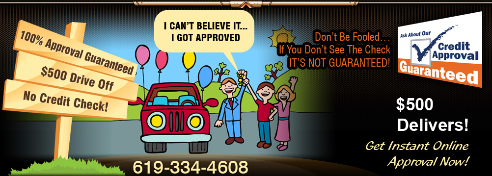 Guaranteed Auto Loan. 619-334-4608