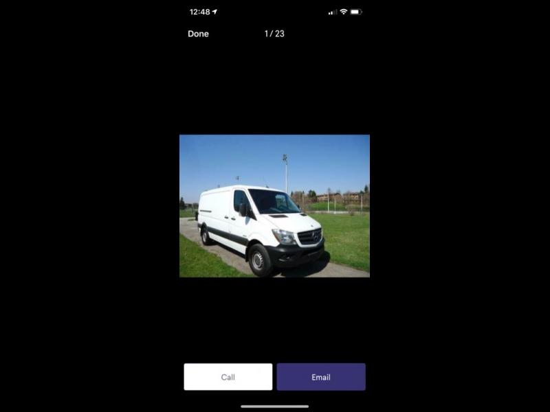Mercedes-Benz Sprinter Cargo Vans 2012 price $7,999