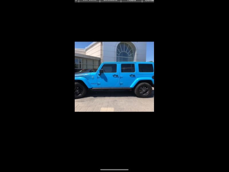 Jeep Wrangler Unlimited 2017 price $7,999