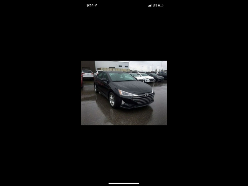 Hyundai Elantra 2019 price $8,999