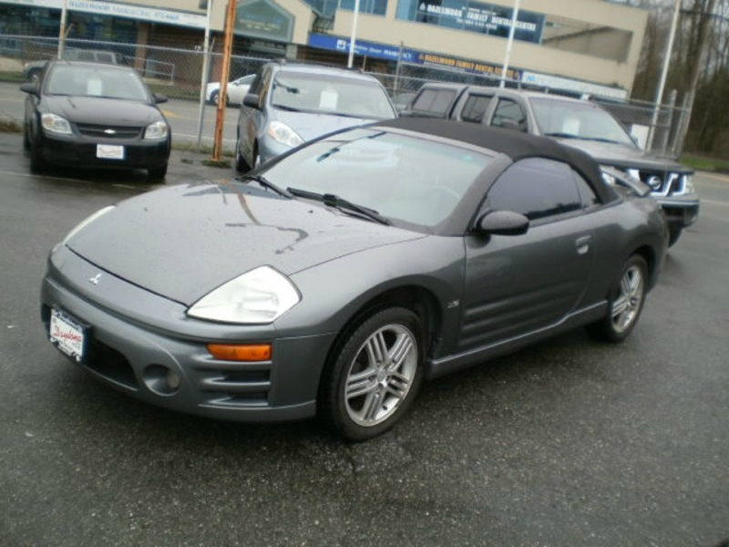 2004 Mitsubishi Eclipse Gt >> 2004 Mitsubishi Eclipse 2dr Spyder Gt 3 0l Sportronic Auto