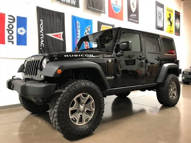 2015 Jeep Wrangler Rubicon >> 2015 Jeep Wrangler Unlimited 4wd Rubicon Custom Lifted