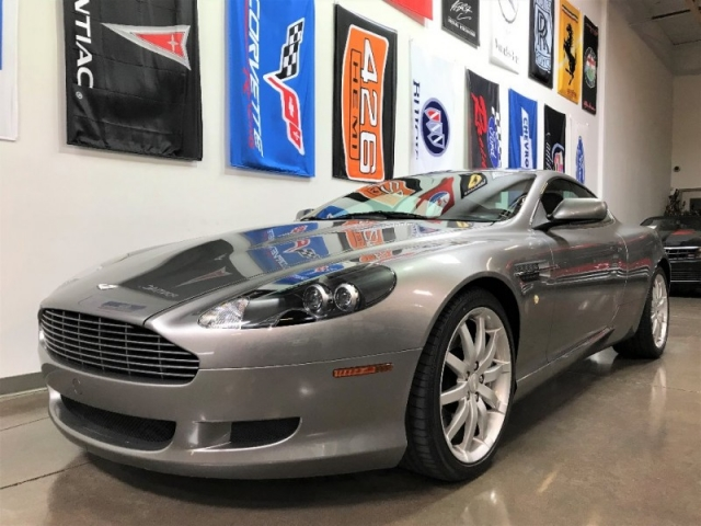 2006 aston martin db9 2 door coupe * manual transmission - choice