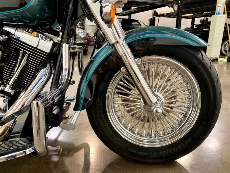 Harley Davidson Fat Boy Softail FLSTF 2000 price $9,800