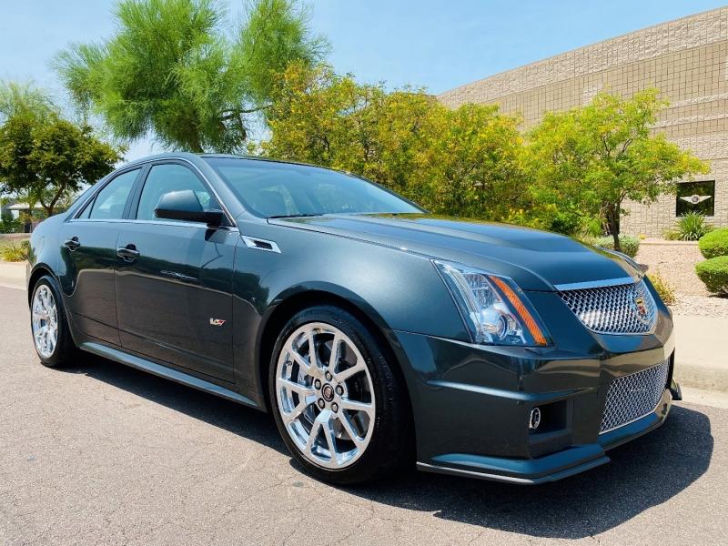 Cadillac CTS-V Sedan 2014 price $51,500
