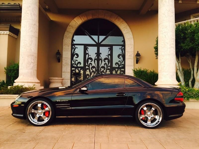 Mercedes-Benz SL-Class 2003 price $43,950