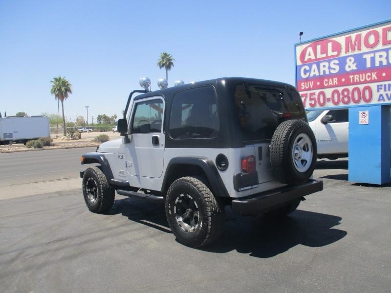 Jeep Wrangler 2003 price $14,995