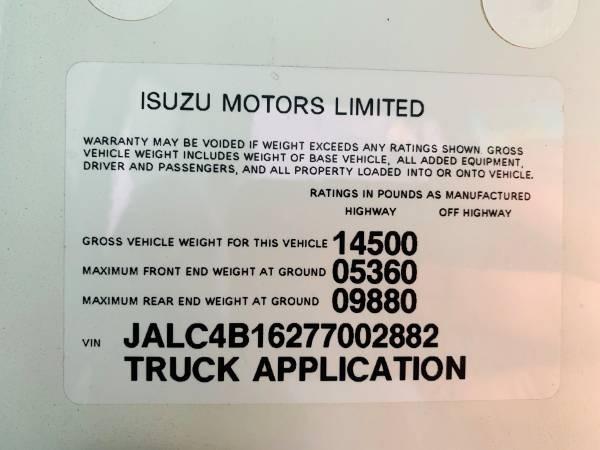 Isuzu W4S042 NPR HD DSL REG 2007 price $19,800