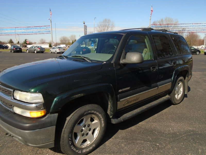 CHEVROLET TAHOE 2002 price $3,495