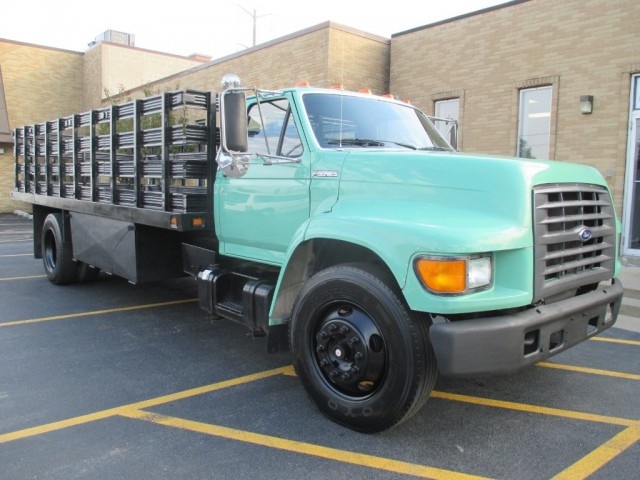 1998 Ford F800 Flat Bed