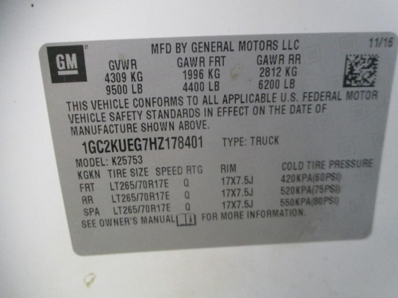 Chevrolet Silverado 2500HD 2017 price $24,450