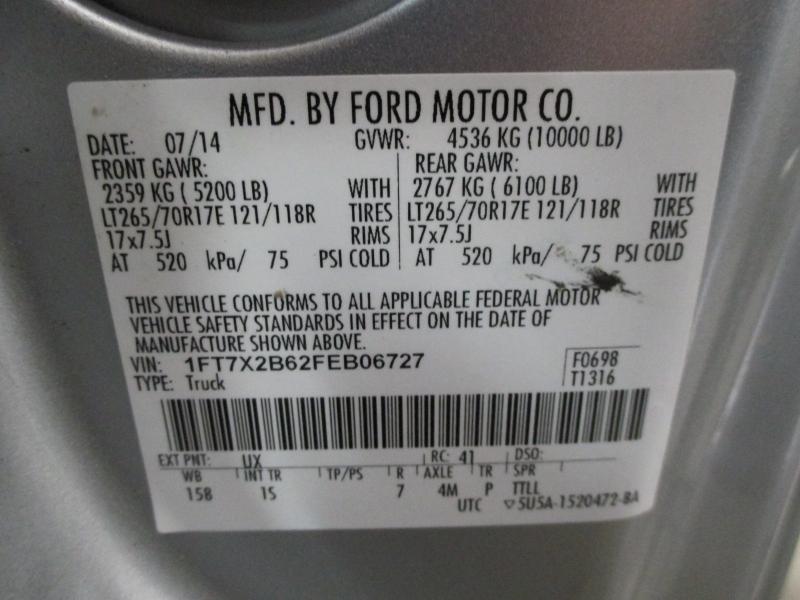 Ford Super Duty F-250 XL 4WD 2015 price $16,900