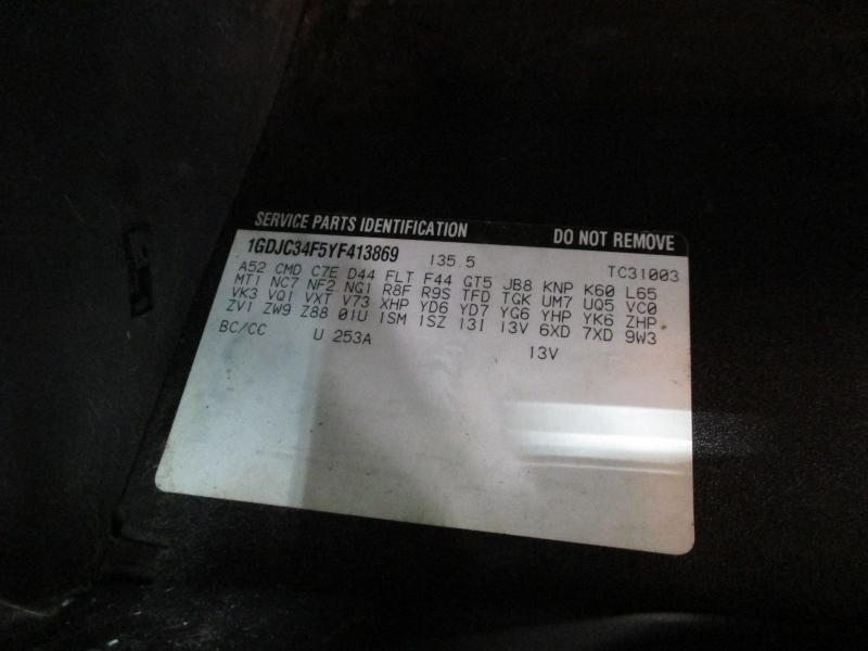 GMC Sierra 3500 2WD 2000 price $6,900