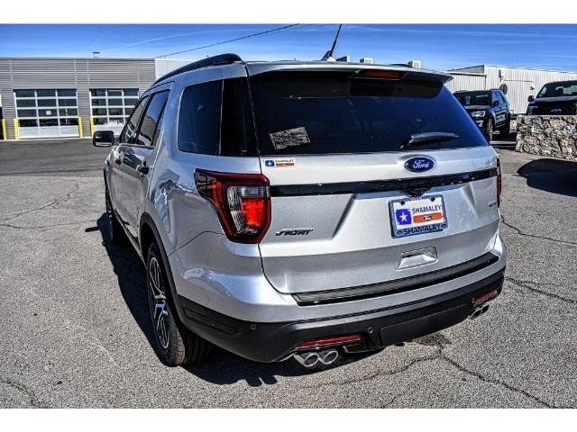 Shamaley Ford El Paso >> 2018 Ford Explorer Sport
