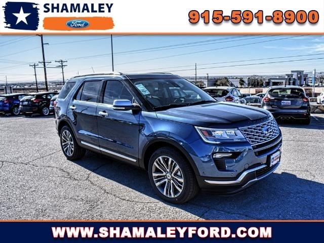 Shamaley Ford El Paso >> 2018 Ford Explorer Platinum