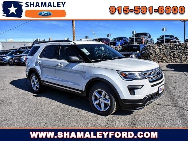 Shamaley Ford El Paso >> 2018 Ford Explorer Xlt