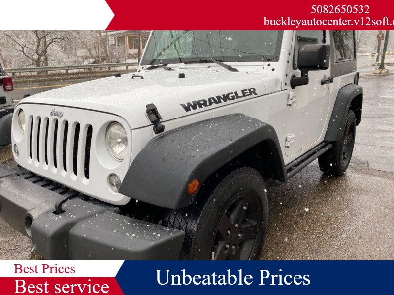 JEEP WRANGLER 2016 price $15,998