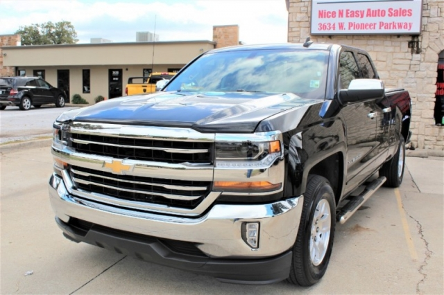 "Dodge Dealership Arlington Tx >> 2018 Chevrolet Silverado 1500 2WD Double Cab 143.5"" LT w/1LT - Inventory 