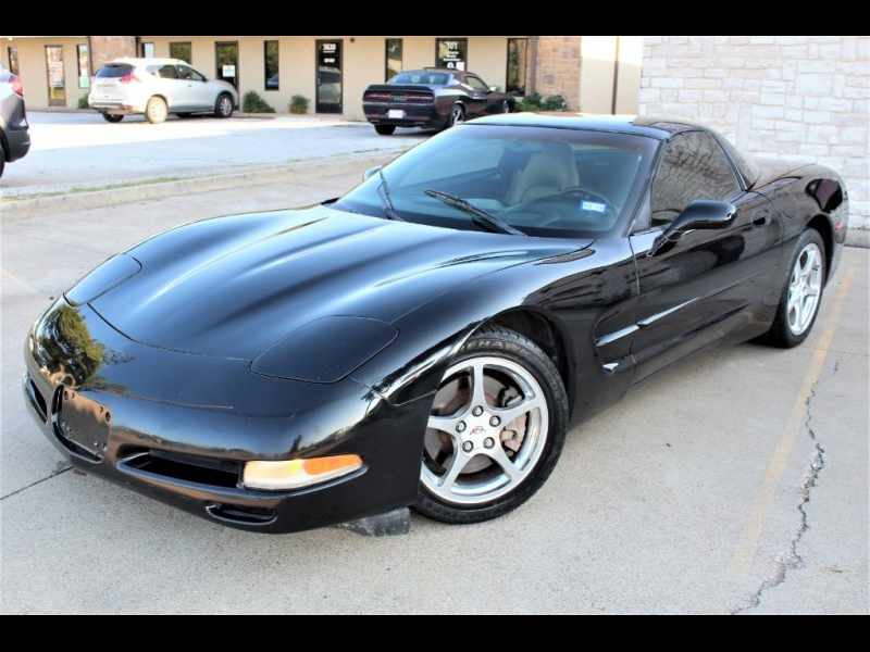 Chevrolet Corvette 2001 price $9,499