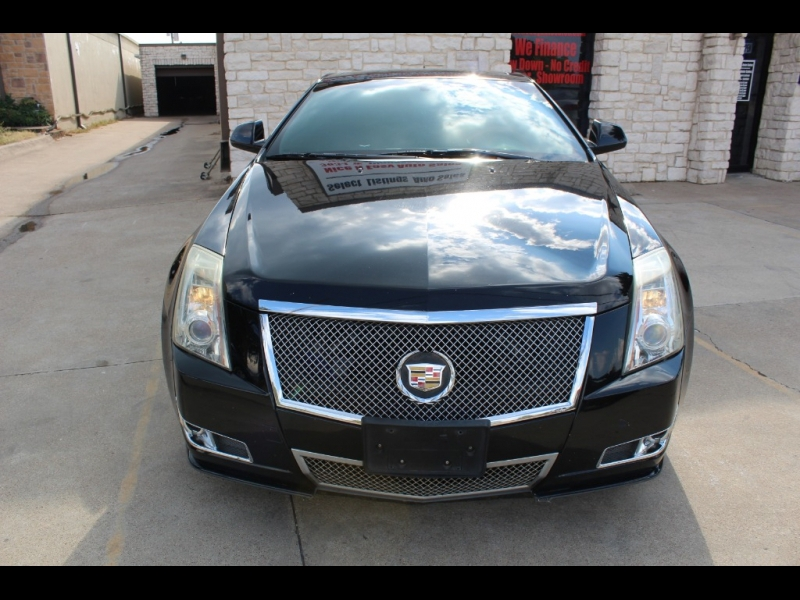 Cadillac CTS Coupe 2011 price $9,499