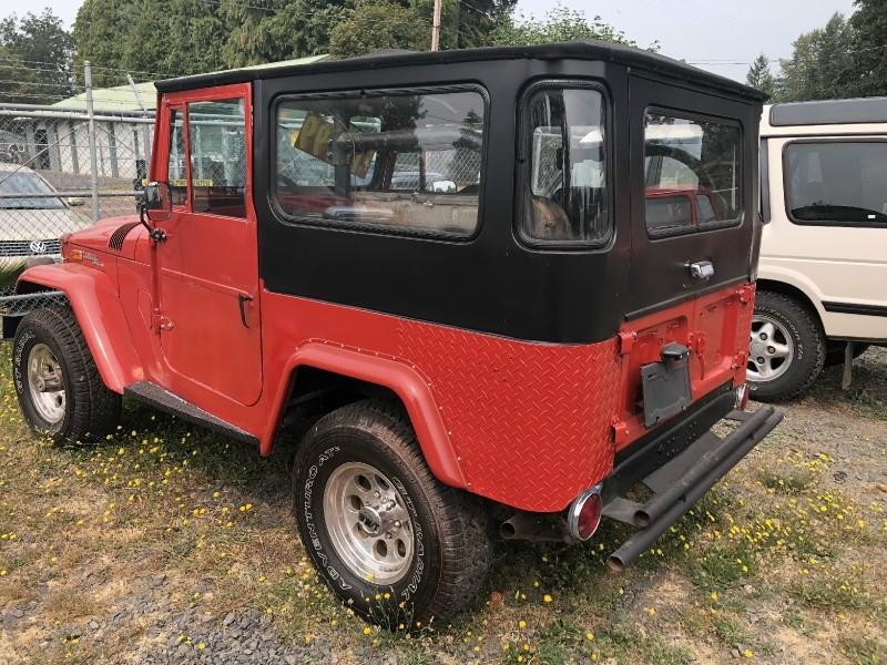 Toyota Land Cruiser 1971 price $12,000