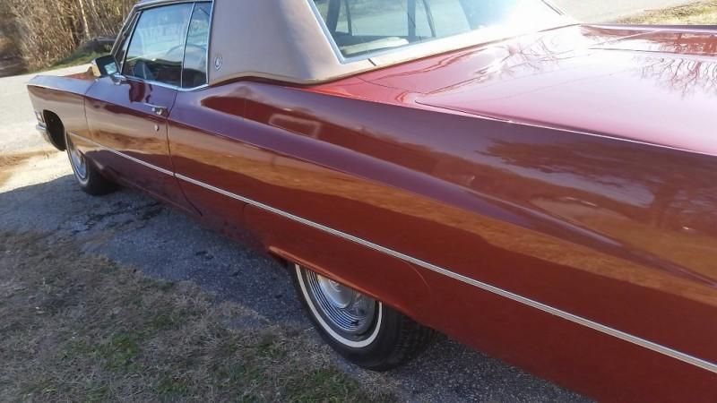 Cadillac DeVille 1968 price $12,950