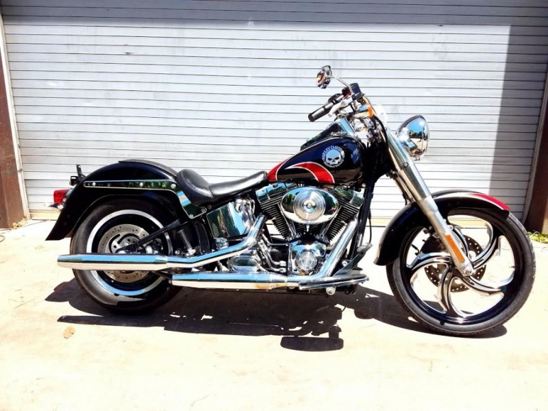 Harley-Davidson FAT BOY CUSTOM 2004 price $9,995