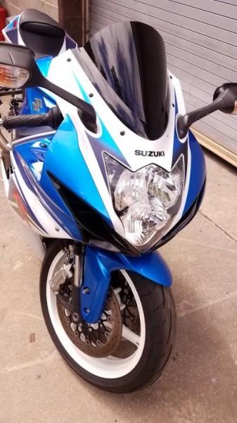 Suzuki GSXR-600 2011 price $8,950