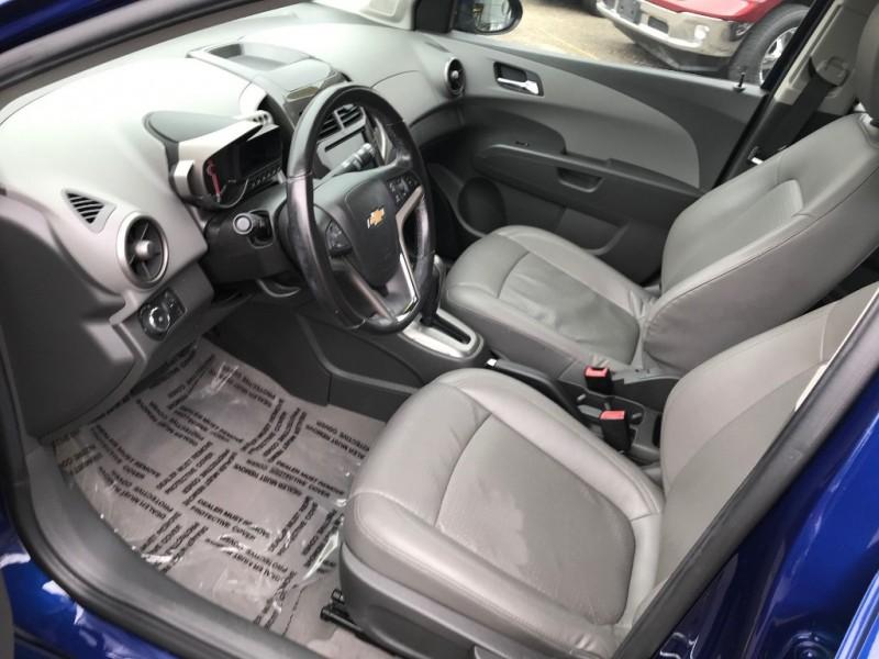 Chevrolet Sonic 2014 price $11,997