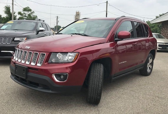 Jeep Compass 2016 price $17,997