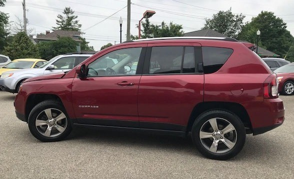Jeep Compass 2016 price $16,445
