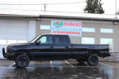 "2002 Chevrolet Silverado 2500HD Crew Cab 153"" WB LS"