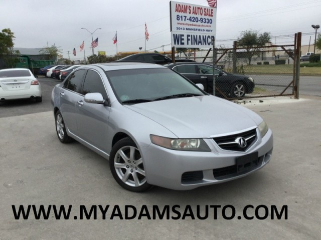 Acura TSX Dr Sport Sdn Manual Inventory ADAMS AUTO SALE - Acura tsx 2004 for sale