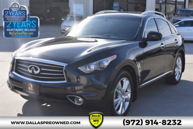2014 Infiniti Qx70 Base Dallas Preowned Auto Group Inc
