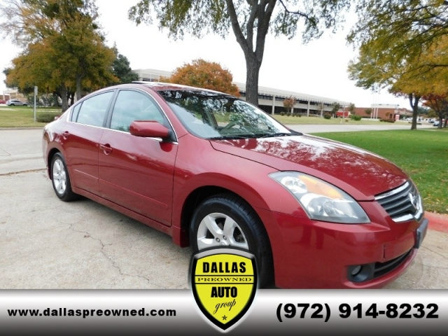 2007 Nissan Altima 4dr Cvt 25 S Sunroof New Tires Financing