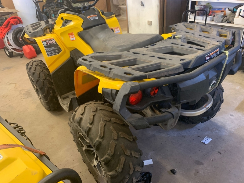 CAN AM OUTLANDER 2014 price $4,995
